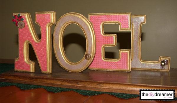 Wooden Noel