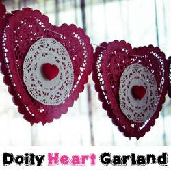 Garland Valentine Banner