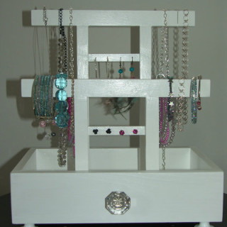 The Jewellery Box-Stand!!!