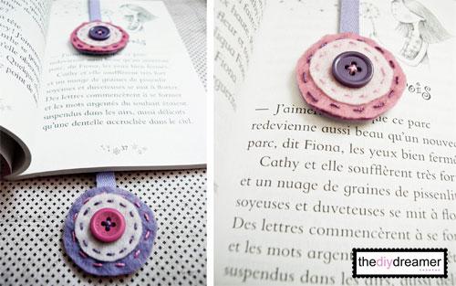 Felt Ribbon Bookmark