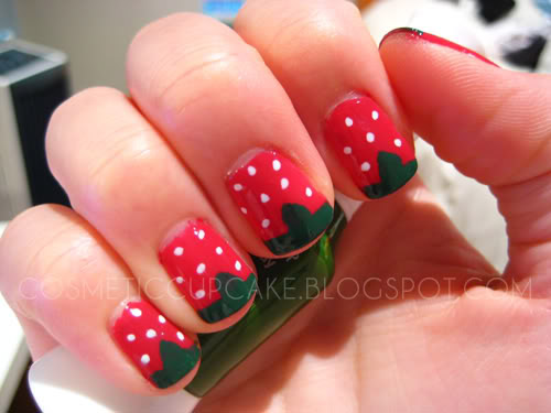 Berry Nails