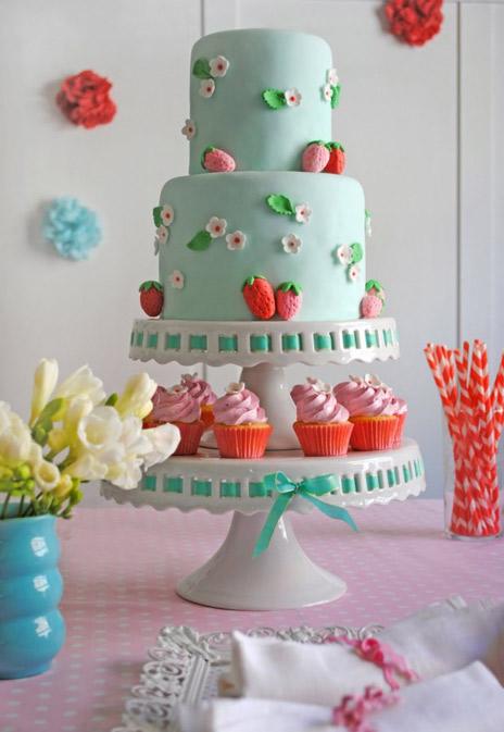 Strawberries Shortcake Theme