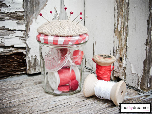 Pincushion Jar