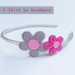 T-Shirt-to-Headband