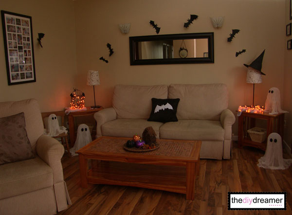 Decorating Ideas > Halloween Decor  The DIY Dreamer ~ 175434_Halloween Living Room Decor