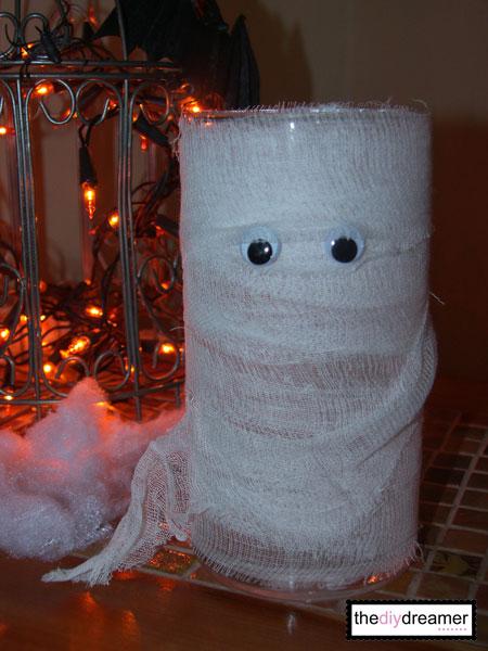 Easy to make Mummy Vase