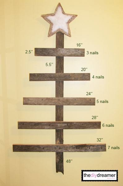 Wall mounted advent calendar a keepsake christmas decoration How to build a wooden advent calendar