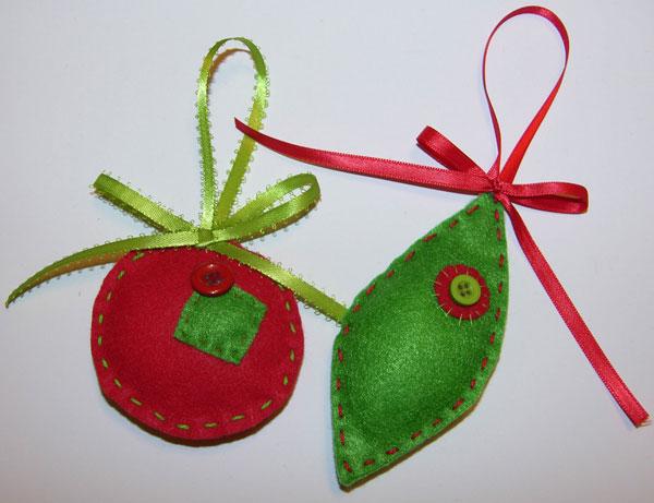 Felt Christmas Ornaments!!!