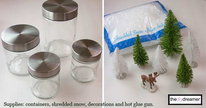 Christmas Snow Globes Diy.Waterless Snow Globes Quick And Easy Christmas Craft