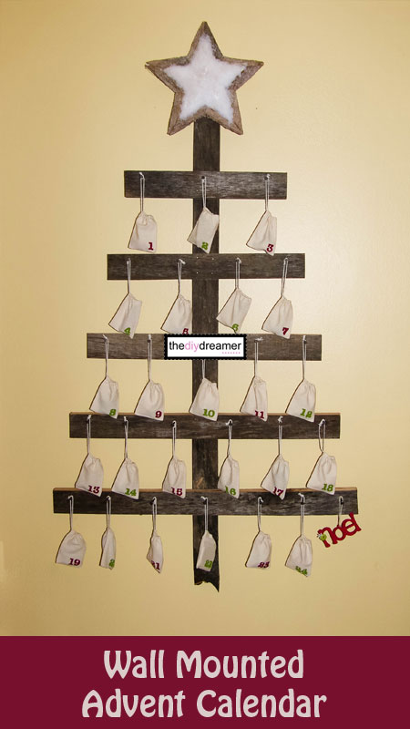 Diy Wooden Advent Calendar : Diy christmas advent calendars