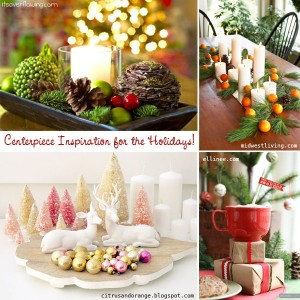 Centerpiece Holiday Inspiration TheDIYDreamer.com