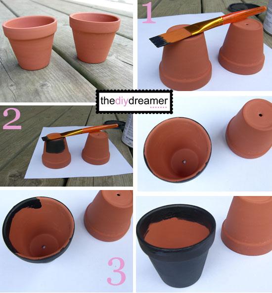 Mini Chalk Pots