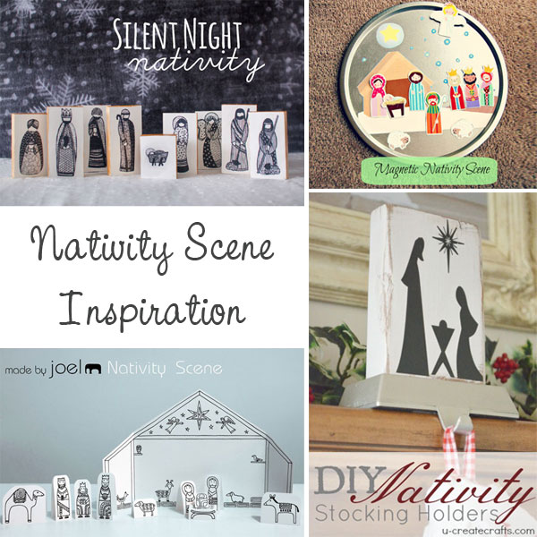 What I Like About This Collection Is That There S So Many Diffe Ways To Incorporate A Nativity Scene In Your Home Not Just Under Tree