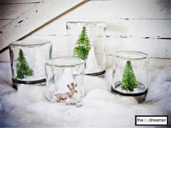 Waterless Snow Globes!!!