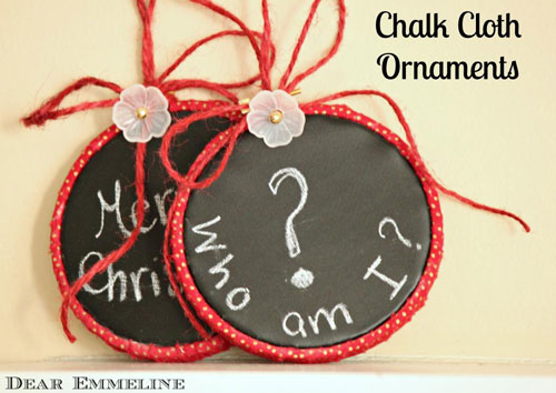 chaklclothornaments