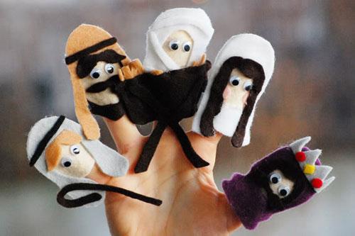 nativityfingerpuppets