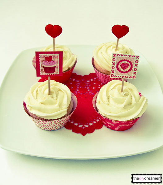 Valentine Cupcake