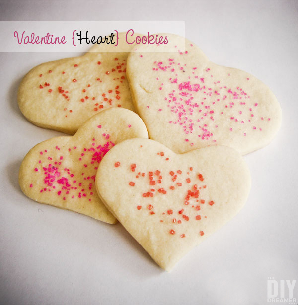 Valentine Cookies are absolutely delicious and fun to make. You can use this basic sugar cookie recipe to make cookies for all occasions.