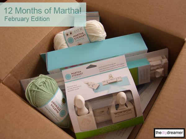 12 Months Of Martha February Supplies The Diy Dreamer
