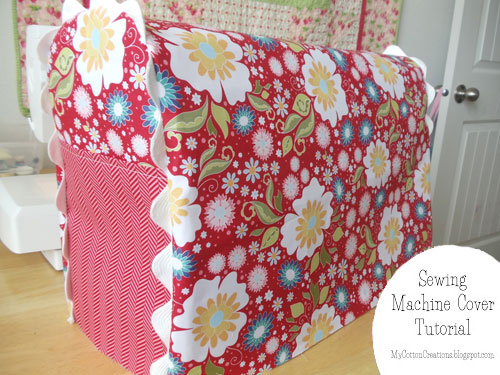 Sewing Machine Covers The DIY Dreamer Mesmerizing Sewing Machine Cover Patterns