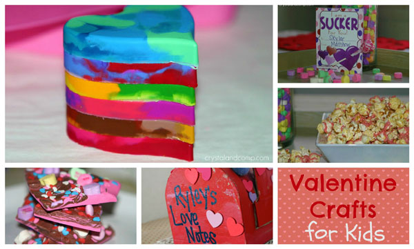 Easy valentine crafts with free printables the d i y for Valentine party crafts for school