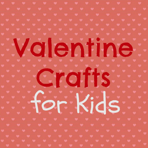 Easy Valentine Crafts with Free Printables {Crystal & Co.}