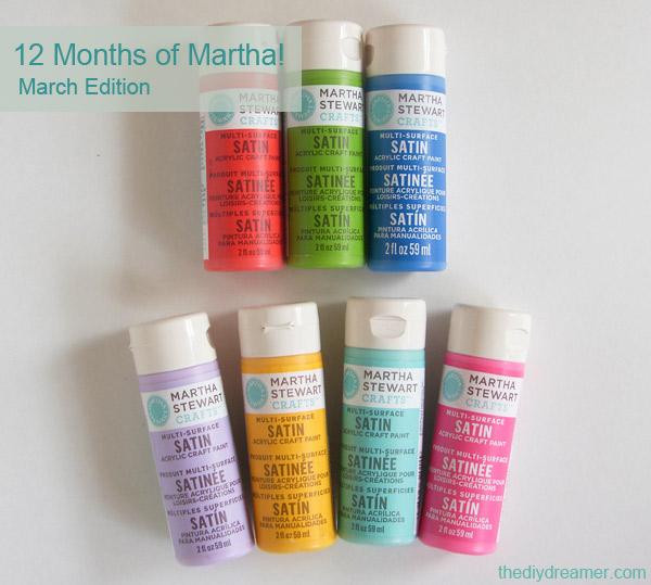 Martha Stewart Crafts Paint