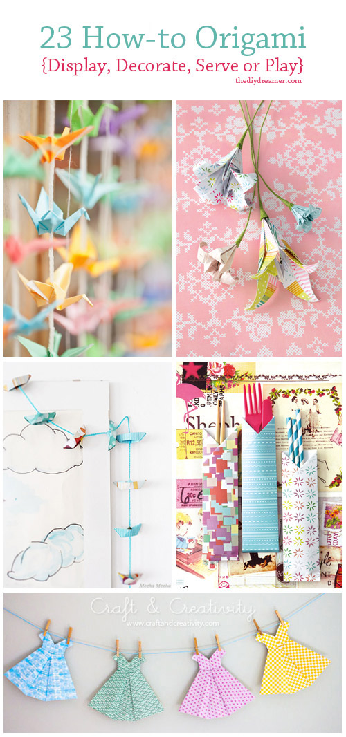 23 Tutorials on... How To Make Origami Butterfly