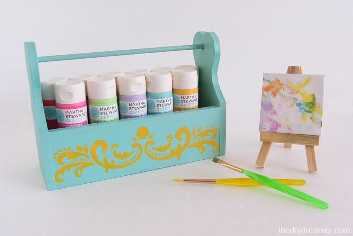 DIY Paint Caddy