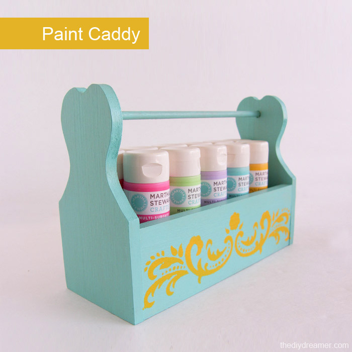 Paint Caddy. A great way to carry all your favorite paint.