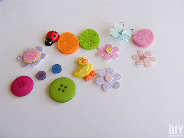Embellishments to decorate