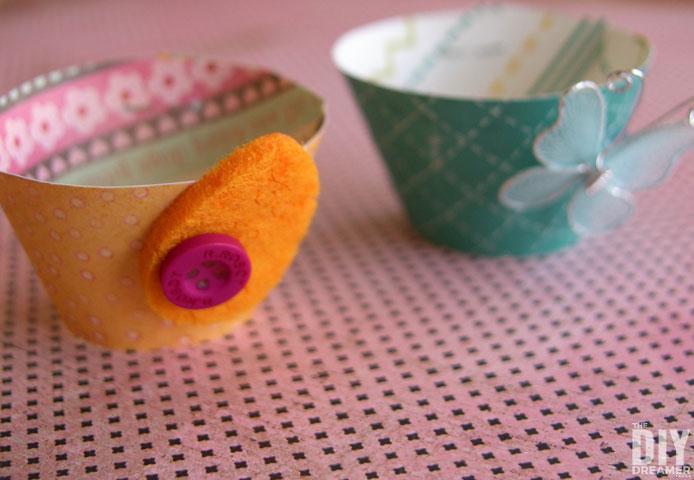 DIY Easter egg cups