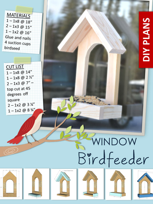 Window birdfeeder