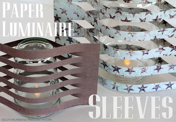 Paper Luminaire Sleeves