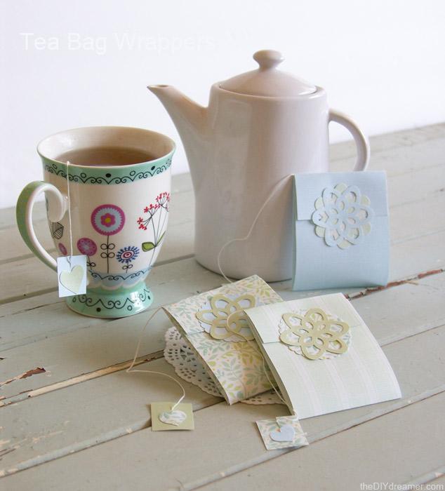 Tea Bag Wrapper