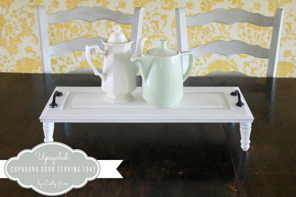 Upcycled Cupboard - Cupboard Door Serving Tray