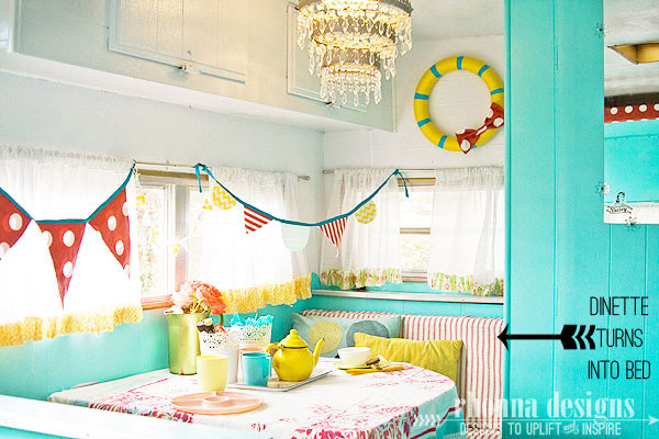Trailer Decoration Ideas {Camper Decor} - The D.I.Y. Dreamer