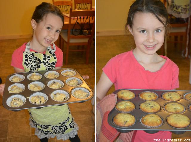 Banana Chocolate Chip Muffin Recipe