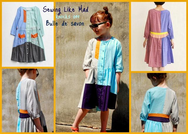 Bulle de Savon Dress Tutorial