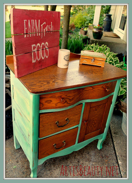 Quick Commode Makeover