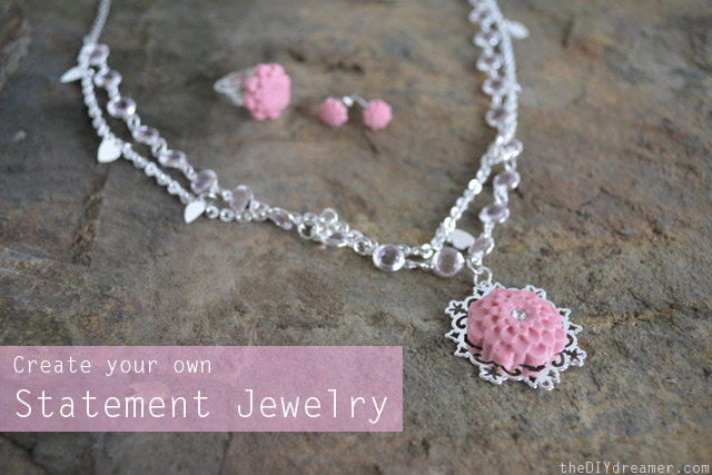 How to make your own Statement Jewelry
