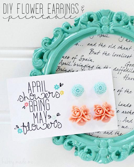 Flower Earrings Tutorial