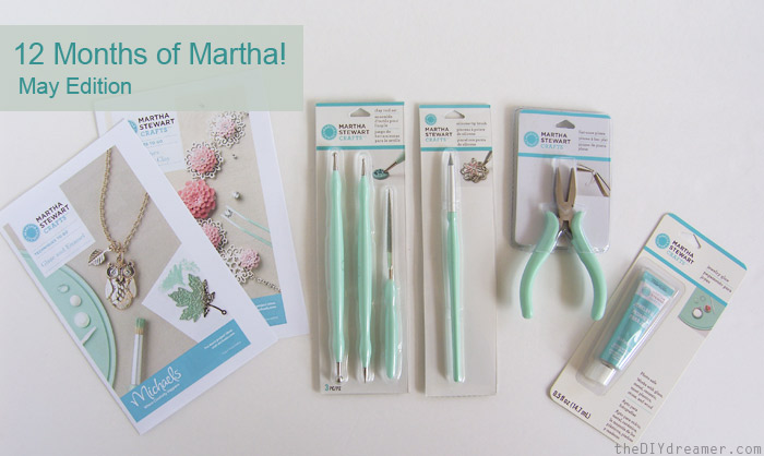 12 months of martha may supplies the d i y dreamer for Michaels crafts jewelry supplies