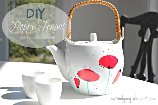 Painted Teapot