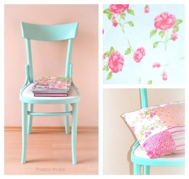 DIY Pastel Chair