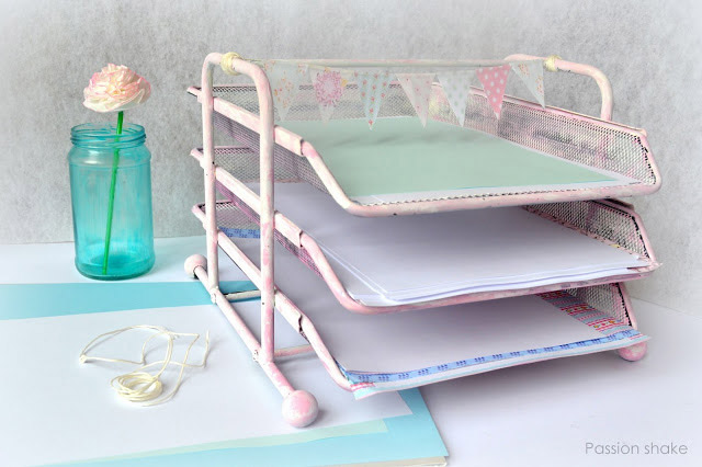 Paper Tray Makeover