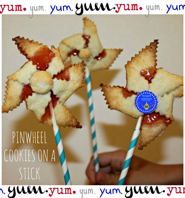Pinwheel Cookies on a Stick