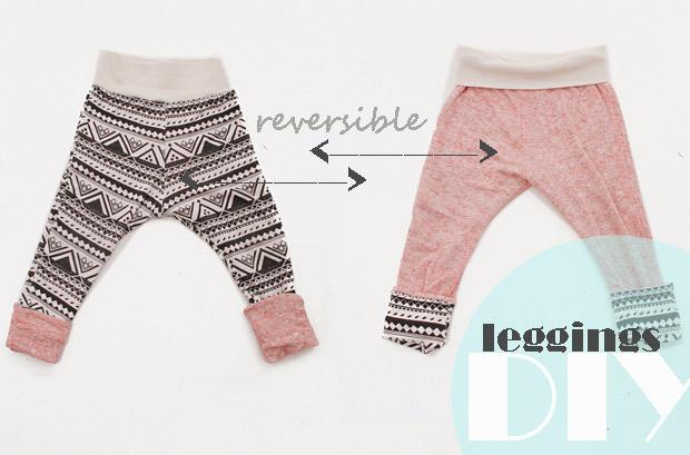 Reversible Leggings Tutorial