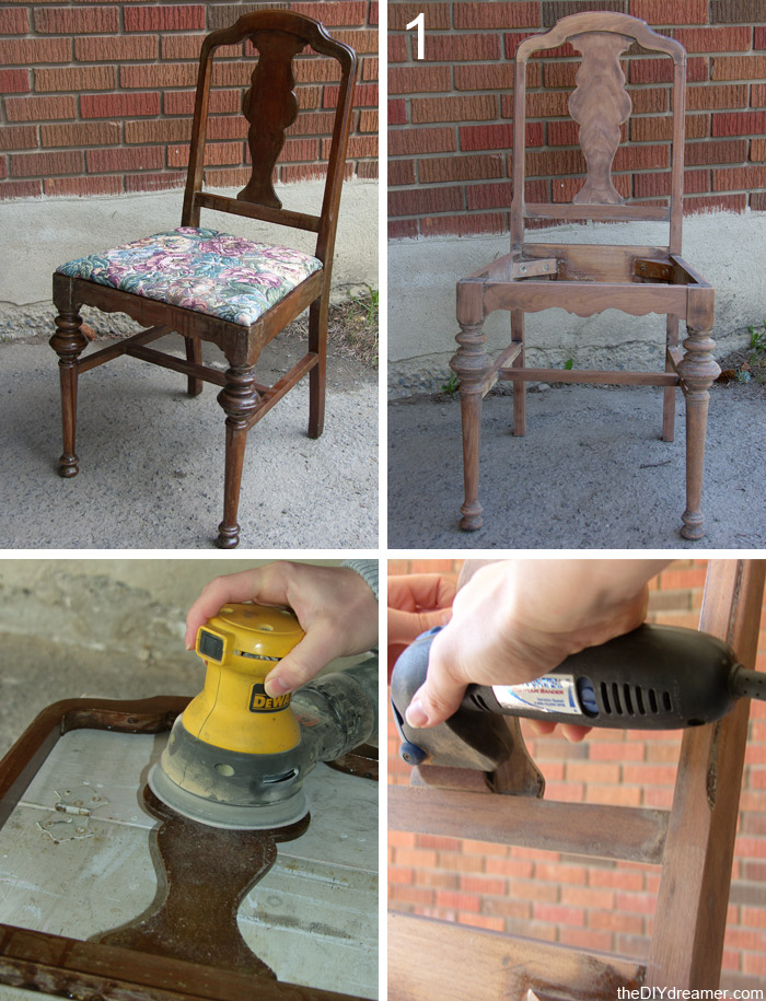 How to Sand a Chair
