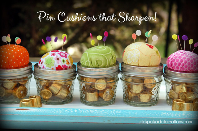 Sharpening Pin Cushions Tutorial